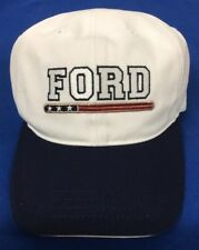 Ford Hat, White With Navy Bill.