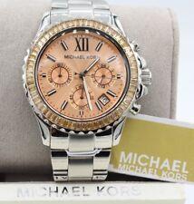 Michael Kors MK5870 Women's Everest Chronograph Stainless Steel Watch. BrandNew