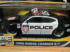 JADA 1:18 2006 DODGE CHARGER R/T POLICE DIECAST