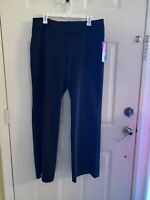 Target Mossimo Curvy Fit Mid Rise Flare Size 14 Black Women's Pants cotton 60%