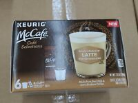 Keurig McCafe Latte Coffee K-Cup Pods & Frothers FAST SHIPPING NEW