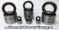 Traxxas Slash 4x4 sealed bearing kit WITH KHZ motor mount 10x19 jims bearings