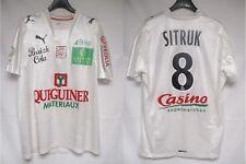 Maillot BREST STADE BRESTOIS 2009 porté SITRUK n°8 PUMA worn shirt trikot M