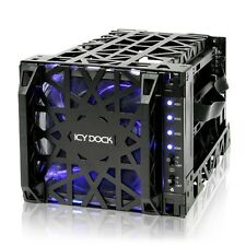 ICY DOCK Black Vortex MB074SP-1B 3.5 SATA HDD 4 in 3 Hot-Swap Module Cooler Cage