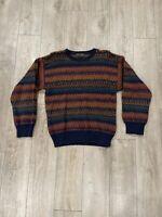 Vintage Croft & Barrow Sweater Cosby Biggie Style - Cool Bulky Soft Men's Sz M