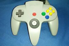 OEM Authentic Gray Nintendo 64 N64 Controller TIGHT STICK, EXCELLENT