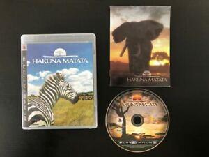 Afrika Hakuna Matata *ENGLISH* - Complete - PlayStation PS3 - Natsume Game