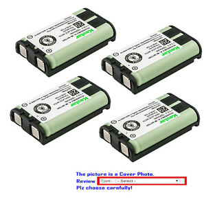 Kastar Rechargeable Cordless Telephone Battery for Panasonic HHR-P104 Type 29