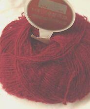 10 Pelotes laine mohair couleur : framboise  ///