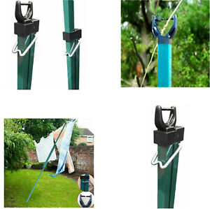 2.6m Telescopic Heavy Duty Line Prop Washing Line Pole Extending Support Outdoor