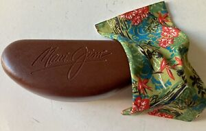 Maui Jim Hard Sunglass Case with Pouch