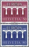 Schweiz 1270-1271 (kompl.Ausgabe) postfrisch 1984 Europamarken