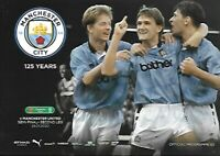Manchester City v Man United 29th January 2020 Carabao Cup S/F Match Programme