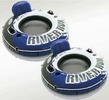 Intex River Run I 2 PACK Inflatable  Water Lounge 53-Inch Diameter Raft new