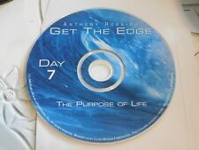 Anthony Robbins Get The Edge The Purpose Of Life Day 7 Disc Only 61-86