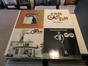 """ERIC CLAPTON: Behind The Sun/ Just One Night etc., LOT WITH 3 + 1x 2 LP/ 12"""""""