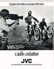 PUBLICITE ADVERTISING 104  1980  JVS VHS CREATION  procédé vidéo