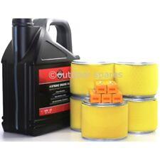 Honda GX390 Air Filter & Spark Plug Kits & 5 Litres Briggs and Stratton Oil,