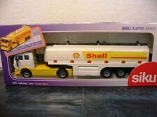 WOW EXTREMELY RARE #3511 Mercedes SK Tankwagen Shell Tanker White 1:55 Siku