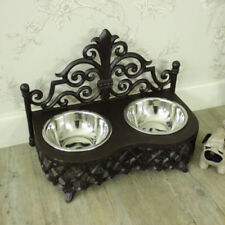 Assiettes et bols campagnes en métal pour la décoration intérieure de la maison