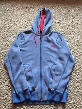 Jordan Blue Elephant Print Jacket Size Medium hoodie
