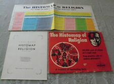 The Histomap of Religion: Large Wall Chart+Foreword+Envelope John Sparks Vintage