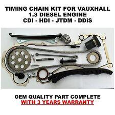 For Vauxhall 1.3 Diesel Engine CDTI HDI JTDM DDiS D Multijet Timing chain kit