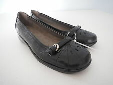 NEW A2 by Aerosoles Black Womens Shoes Ricotta Slip On Flats Size 6 M