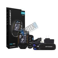 Compustar 3-Mile Range PRO T11 2-Way Remote Car Start & Alarm System CSP2WT11-AS