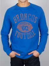 Denver BRONCOS vintage design fleece sweatshirt by Junk Food-MEDIUM-NWT
