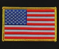 USA AMERICAN FLAG TACTICAL US ARMY MORALE MILITARY BADGE FULL COLOR HOOK PATCH