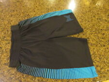 Tapout MMA Blue boys girls Shorts XL 18 / 20 athletic stretch elastic waist