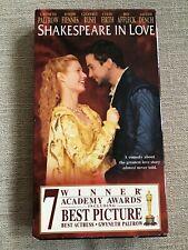 Shakespeare in Love (Vhs Tape 1999). Gwyneth Paltrow 7 Winner Academy Awards