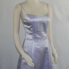 NWT Les Soirees Hand Beaded Lilac A-Line Gown Prom Bridesmaid Sample Dress sz 10