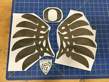 Oregon Ducks FS Helmet Wings Chrome - Full Size Pro Combat Edition With O/PAC 12