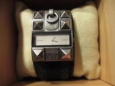 Womens Marc Echo NYC Rhino Black Watch with Studs