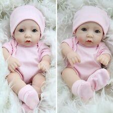 "CHEAP 10"" Handmade Newborn Baby Vinyl Silicone Realistic Reborn Dolls Girl LOVE"