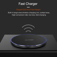 US 15W Qi Wireless Charger Charging Pad Mat For iPhone 11 11Pro 8 X 8Plus XS XR