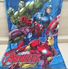 X Large Soft Mink Blanket Flannel Fabric Plush Quilt 1.5x2 Meter Avenger