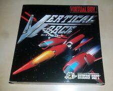 Nintendo Virtual Boy Game Vertical Force Japan BRAND NEW
