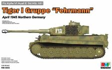◆ RMF 1/35 RM-5005 Tiger I Gruppe Fehrmann pz.kpfw.VI AUSF.E SD.KFZ.181 kit