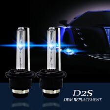 2x D2S XENON HID 7600LM 8000K LAMPADINE AUTO LUCE ANTERIORE DI RICAMBIO Fanale