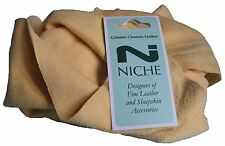 Genuine Natural Chamois Leather 3.5 sq foot
