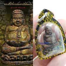 Thai amulets Phra Sangkajai Aj Plean 1st edition bring wealth lucky fortune