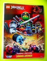 Lego Ninjago Serie 3 Trading Card Game Sammelmappe Mappe Sammelordner Ordner Neu
