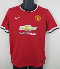Camisa De Fútbol Nike Manchester United 2014-15 Fútbol Jersey Boys 14 13-15 años