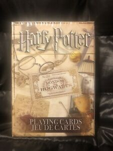 Harry Potter London To Hogwarts Playing Cards Collection New Sealed Package