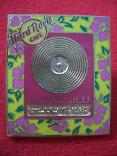 HRC Hard Rock Cafe Honolulu Gold Record Series 2005 LE300