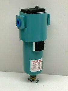 """Wilkerson M16-03-MX0 Coalescing Air Filter 3/8"""" NPT w/ D Element and Diff. Press"""