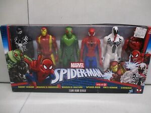 2016 Marvel Spiderman Titan Hero Series with Venom, Shocker, Carnage